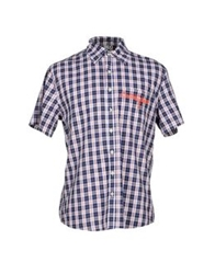 Blomor Shirts Dark Blue