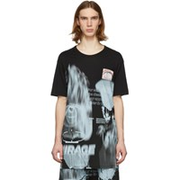 11 By Boris Bidjan Saberi Black Mirage T Shirt