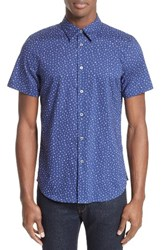 Paul Smith Men's Ps Extra Trim Fit Cactus Print Sport Shirt