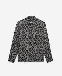 The Kooples Blue Printed Classic Collar Shirt