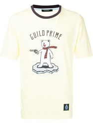 Guild Prime Printed T Shirt Yellow And Orange