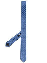 Dolce And Gabbana Blade Tie Blue