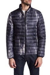 Antony Morato Quilted Pattern Coat Black