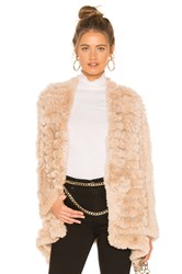 Heartloom Tilda Fur Jacket Beige