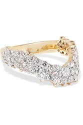 Ana Khouri Simplicity 18 Karat Gold Diamond Ring 6