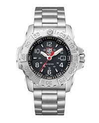 Luminox Navy Seal Bracelet Watch Silver