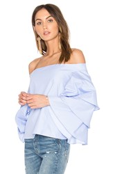 Endless Rose Three Layers Top Blue