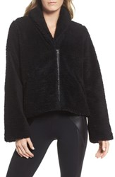 Alo Yoga Women's Cozy Up High Pile Fleece Crop Jacket
