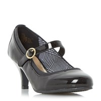 Head Over Heels Addy Mary Jane Court Shoes Black