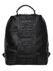 Bikkembergs Faux Leather Backpack