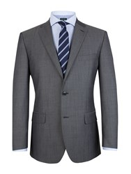 Pierre Cardin Tonic Plain Notch Collar Classic Fit Jacket Grey