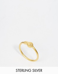 Dogeared Gold Plated Confidence Is Key Reminder Ring