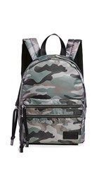 Rebecca Minkoff Nylon Medium Backpack Camo Print