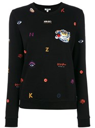 Kenzo Multi Icon Sweatshirt Black