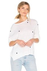 Sundry Star Patches Cashmere Pullover Beige