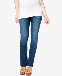 A Pea In The Pod Maternity Medium Wash Bootcut Jeans