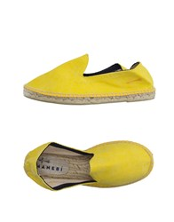 Manebi Footwear Espadrilles Men Yellow