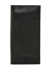 Cole Haan Breast Pocket Leather Wallet Black