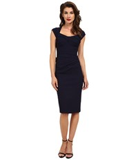 Stop Staring Love Dress Navy Blue Women's Dress