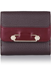 Tod's Two Tone Textured Leather Wallet