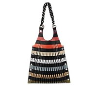 Sonia Rykiel Le Baltard Medium Leather Tote Bag Multi