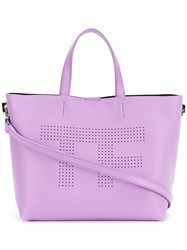 Tom Ford Perforated Logo Shopper Tote 60