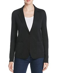 Majestic Filatures Double Face Knit Blazer Black