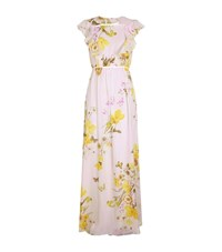 Giambattista Valli Frill Sleeve Floral Gown Female Multi