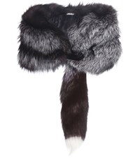 Miu Miu Fur Stole Brown