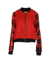 Avn Jackets Red