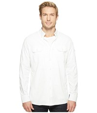 Kuhl Thrive Long Sleeve Shirt White Long Sleeve Button Up