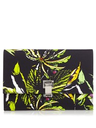 Proenza Schouler Small Lunch Floral Print Clutch