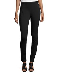 Elie Tahari Melinda Double Knit Skinny Pants Black