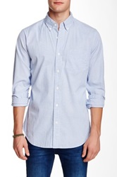 Relwen Summer Dobby Shirt Blue