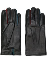 Paul Smith Classic Fitted Gloves Men Lamb Skin Wool S Brown