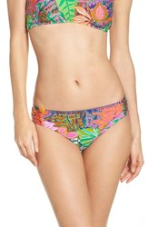 Trina Turk Women's Tropic Escape Hipster Bikini Bottoms