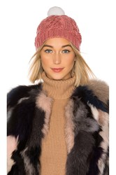 Michael Stars Show Me The Cashmere Beanie Rose