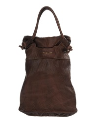 Manila Grace Handbags Dark Brown