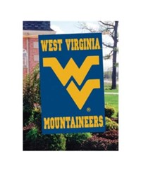 Party Animal West Virginia Mountaineers Applique House Flag Team Color