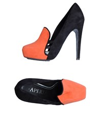 Aperlai Moccasins With Heel Coral