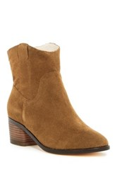 Matt Bernson Colt Genuine Shearling Lined Bootie Brown