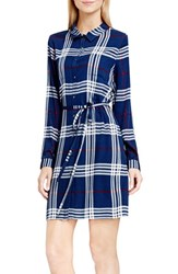 Vince Camuto Women's Two By Plaid Shirtdress