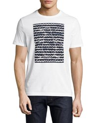 Original Penguin Pete's Wave Graphic Tee White