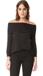 Lanston Off Shoulder Top Black
