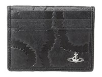 Vivienne Westwood Belfast Folding Card Holder Black Credit Card Wallet