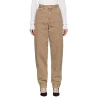 Etoile Isabel Marant Brown Oversize Corsy Jeans