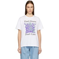 Ashley Williams White 'Don't Know' T Shirt