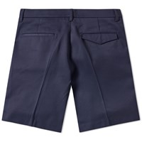 Acne Studios Adrian Cotton Chino Short Blue