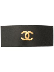 Chanel Pre Owned Logo Hair Clip 60