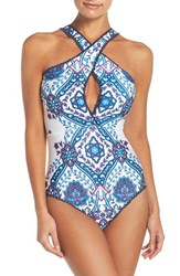 Becca Women's Inspired One Piece Swimsuit